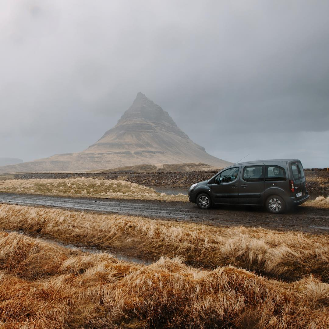 """@brodyleven and I packed as minimally as possible to allow ourselves to experience every mountain we came across in Iceland. This was our rental car. Most people think you need to use a gas-hogging, lifted, 4x4 to experience the roads of Iceland. We..."