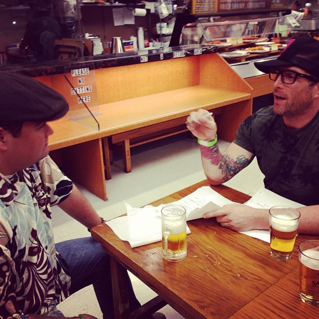 I'm on air tonight on HNL Radio AM1210 KZOO from 7-8 at Shirokiya. Straight briefing with @erikries #dontpanicitsorganik #organik stories from #Japan #tokyo #fashion #snowboard #niseko #hanafun