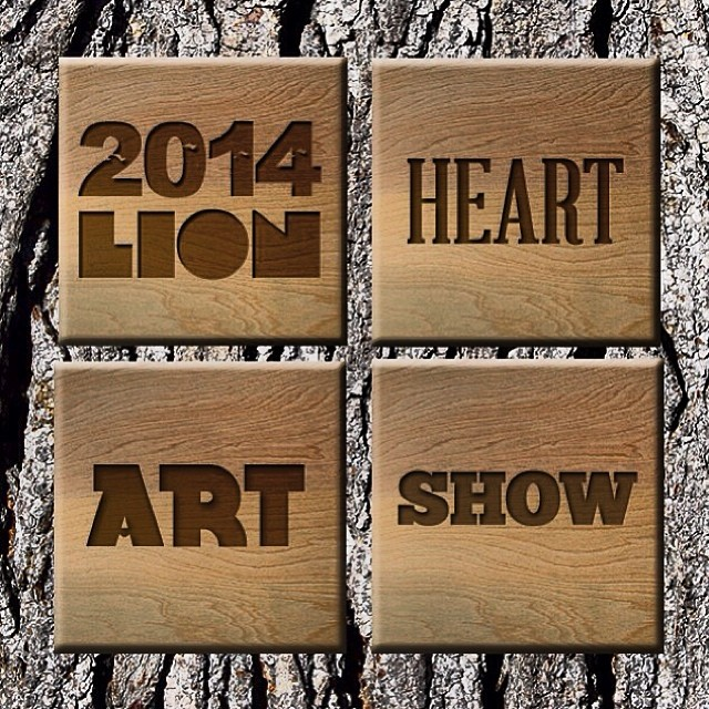 #regram from @CRJ_healingctr   see everyone Friday Night for the 3rd Annual Lion Heart art show, 4-8pm at Riverside Studio in Truckee