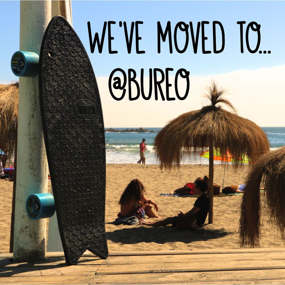 We have moved! Follow us @bureo #pushfortomorrow #netstodecks