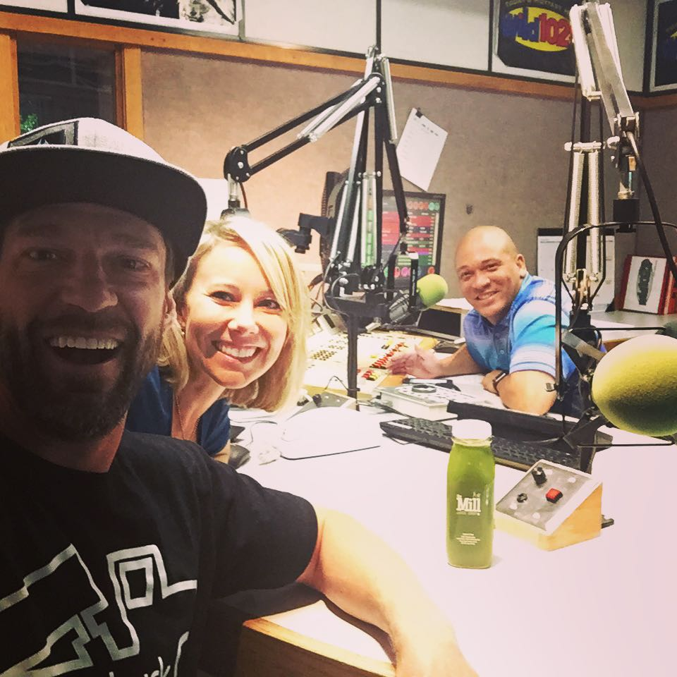 2 songs away from @bigdealronjames on Wild 102.9FM, talking about the @hi5sfoundation and the #H5FullCircle fundraising project!!! Support by clicking the link in my bio | #HighFivesFoundation.com | #ChoosePositivityNow