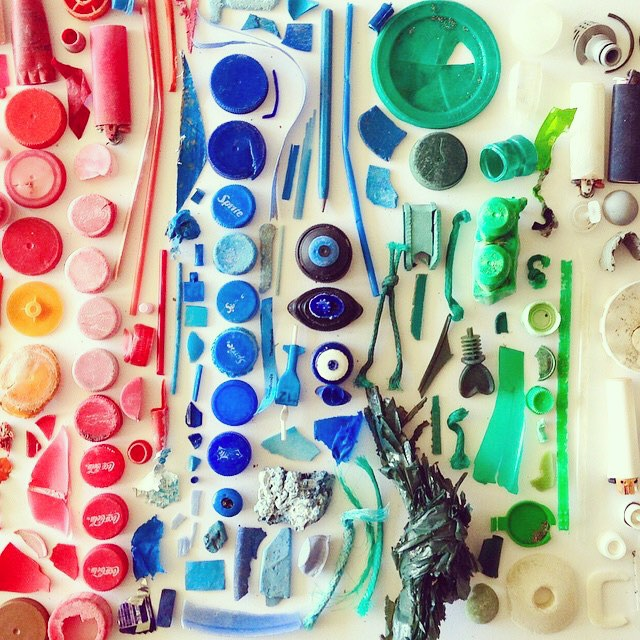 trash talkin' | rubbish found on a half hour beach walk @vanishingpointtasmania  With every #OKIINO purchase we support organizations like @5gyres that create solutions for #oceanpreservation #makeadifference #saynotoplastic #banthebead #oceandebris ...