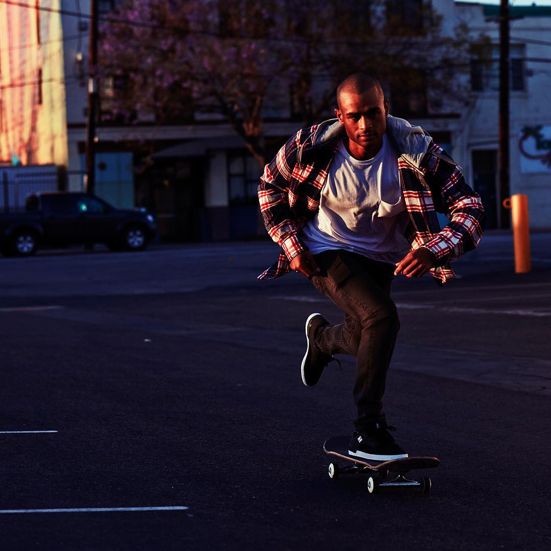 The Hood Up flannel in blue iris: DC Defined by @tommyfynn. dcshoes.com/definedbylookbook #DCShoes #dcdefinedby
