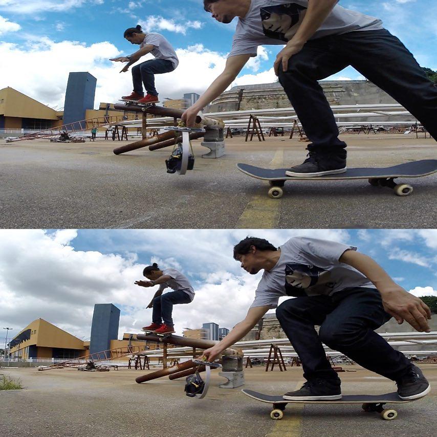 @rodrigoleal e @tlosada na missão!  #qixteam #qix #skate #skateboard #skateboarding #skateboardminhavida