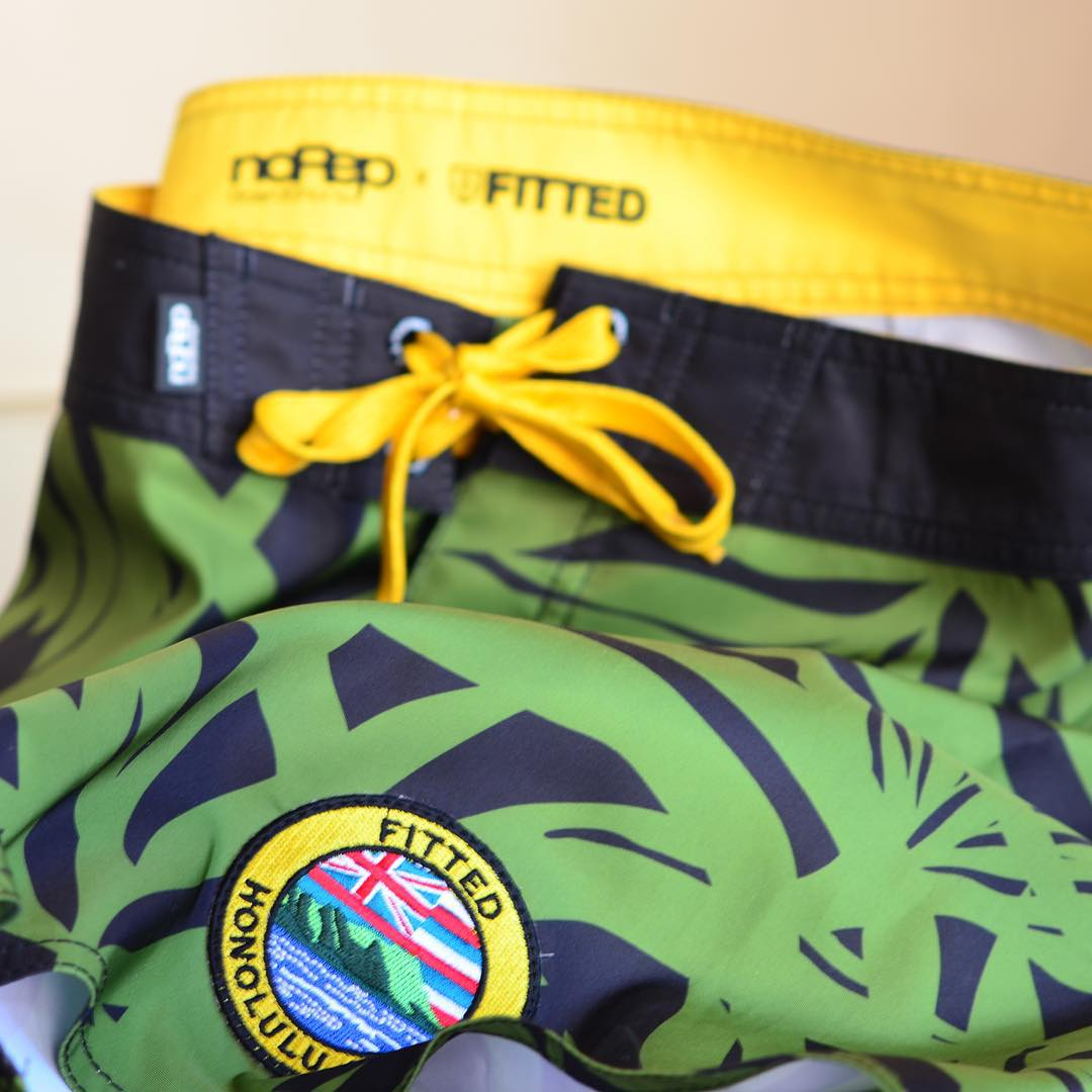 Attention to detail. Form-Fit-Function.  noRep x @fitted Coming Soon  #inspiredboardshorts #norepboardshorts #fittedhawaii