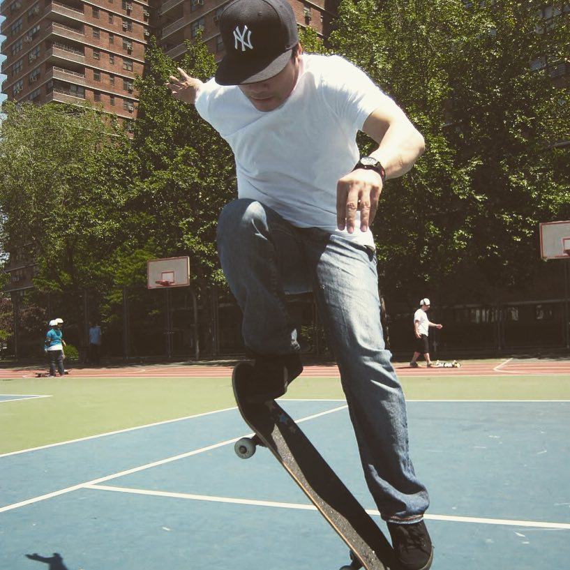 City skating. #skate #skater #skateboard #skateboarding #sk8 #skatetricks #streetskating #sunshine #nyc #citylife #motivation #determination #achieve #focus #success #community #mentor #volunteer #shred #grind #lifeskills #makeithappen...