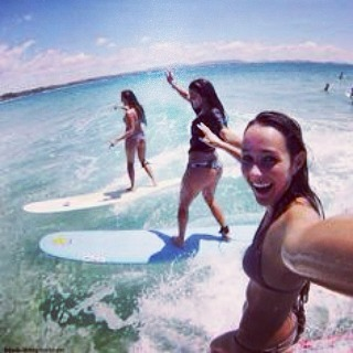 Hope you're having a SURFTASTIC TUESDAY. life's always better on a board with your best babes! Tag two rad babes you'd want to surf with today! #luvsurfapparel #tagafriend #getoutside #play #partywave #surf #surflikeagirl