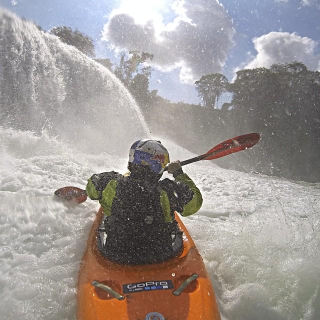 Chasing waterfalls. #chiapas #kayak