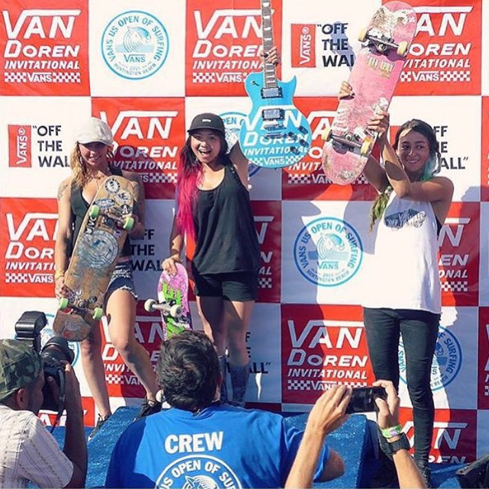 The girls slayed the #vandoreninvitational!! Congratz to @allyshabergado for getting 1st, @julzlovespoolz for 2nd, and @lizziearmanto for 3rd! High fives to all the girls who participated!