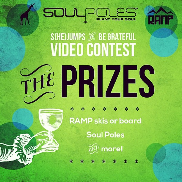 We're giving away over a $1000 worth of prizes for our February #contest. We hope you're working on your video entry! Check out our facebook page for details. @rampsports @soulpoles #highaltitudehappiness #plantyoursoul #grateful