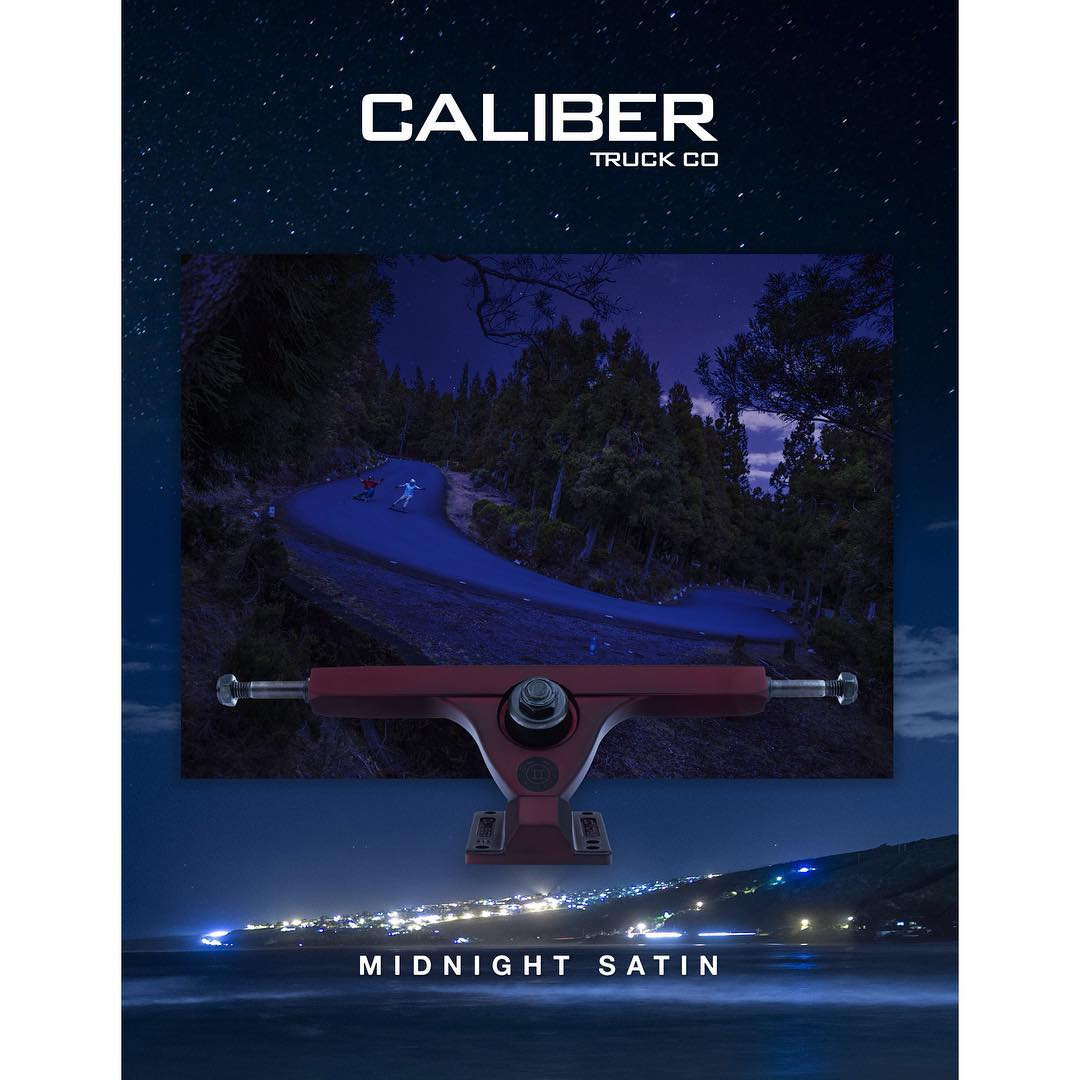 The final truck in the #MidnightSatin lineup is the Midnight Satin Red! Available in both 44 and 50 degrees, they'll be waiting for you on the shelves of your favorite retailer this week! #CaliberII #Sexy #LaReunion