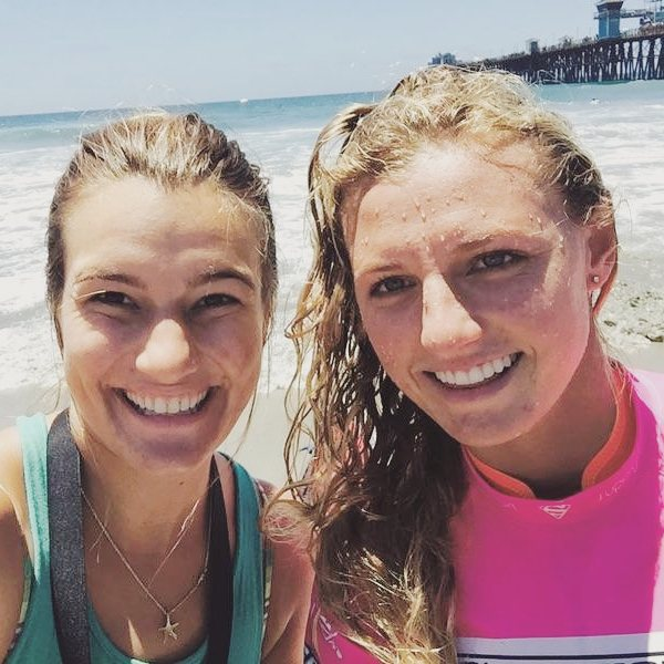 This weeks #wcw is cali native @lakeypeterson ! Kellyanne was shaking with excitement after meeting this lady shredder at @supergirlpro || #luvsurf #luvmyjob #surflikeagirl #supergirlpro #oceanside #meetyourheros #livethecalidream