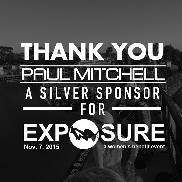 Thank you to @paulmitchellus confirmed to be a silver sponsor for Exposure 2015!! There are plenty of partnership opportunities still available, email partnerships@exposureskate.org to find out how you can help empower girls through skateboarding!