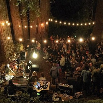 Another great capture by @monicasemergiu from last weekends #underthestarsca party by @hipcamp. Many thanks for all the good times and laughter... But not for the hangover. Damn you, hangover. #partyintheredwoods