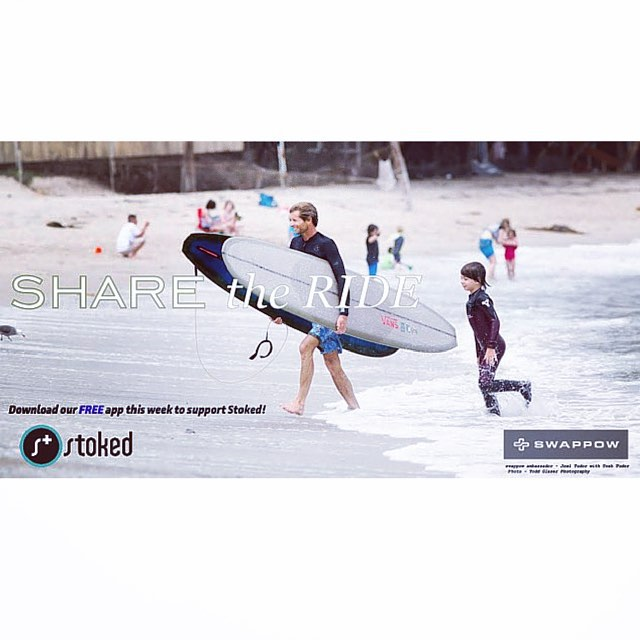 @swappow is donating $1 to @stokedorg for every download of their new FREE app this week! Use the app to buy, sell, lend or donate your gear and help make action/adventure sports affordable to kids worldwide. Help us reach our $1000 goal by clicking...