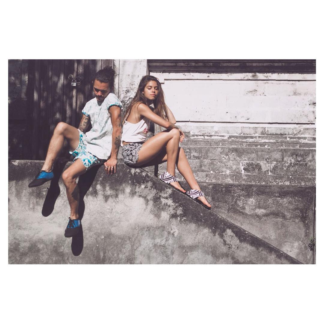 Chilling like a coupla villains ⚡️ #summertime #andthelivingiseasy #Indosole #TiresToSoles #SolesWithSoul #Ikhanna #JJshoe #PTHWYS #vegan #repurposed #upcycled #footwear