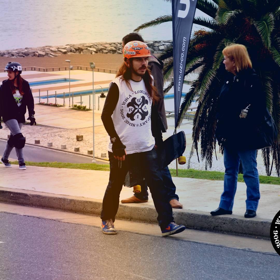 Seguimos de vacaciones! Salí a andarxandar! Encontra todos nuestros productos en www.wikasport.com!  #longboarding #longboard #teamwika #argentina #instagood #instalike #smile #cool #nice #amazing #happy #photo #life #friends #longboardday...