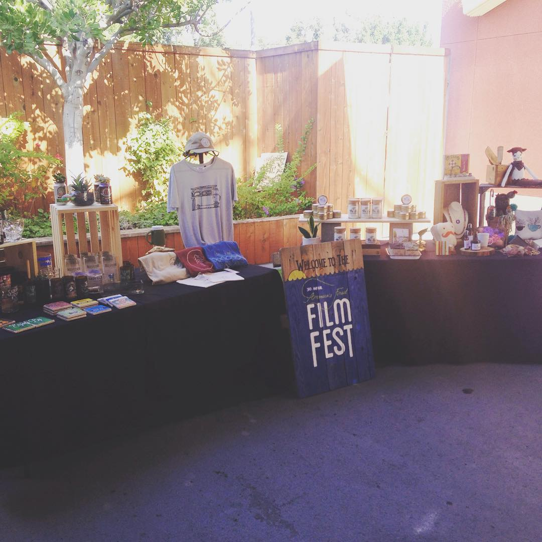 Make sure you tune in to @sandiego6 this morning! We're set up next to some rad local makers, hanging out with the @1to1movement and spreading the good vibes about their Americas Finest Film Fest coming up in Aug