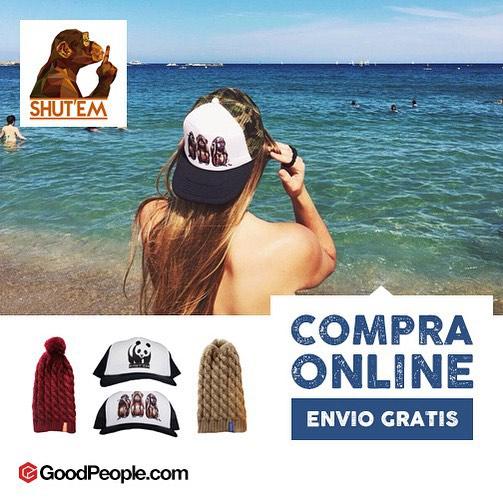 Ya podes adquirir nuestros productos en GoodPeople! Entrá a nuestra tienda online en www.goodpeople.com/shutem, comprá online con envío gratis! #shutem #goodpeople #like #snapbacks #caps #beanies #love #summer