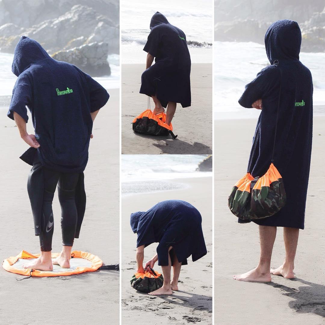 NUEVO PRODUCTO: LANZAMIENTO!!!!! Nunca mas arena o tierra en tu traje de agua, nunca mas tu auto mojado por el traje!  Cambiate dejando tu traje de agua limpito y guardalo en nuestra CHANGING MAT water resistant!!! CÓMODO, PRÁCTICO Y...