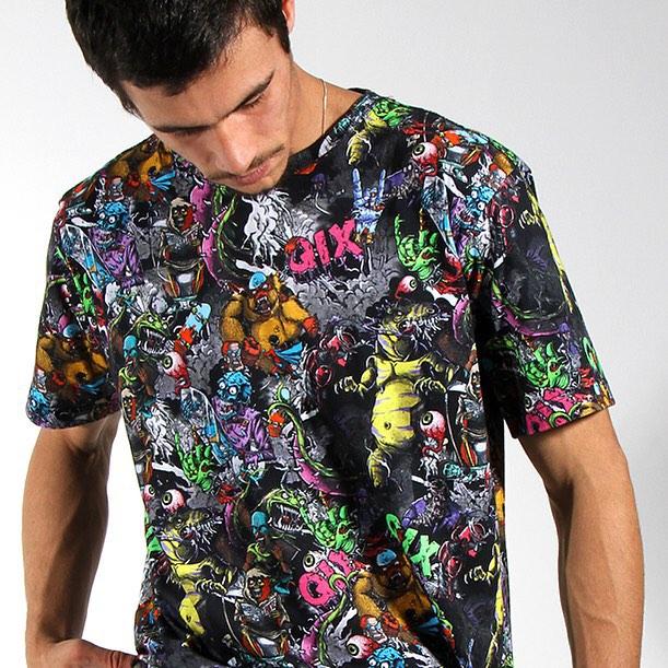 Que tal a camiseta #QIX Monster para o rolê? Compre online agora mesmo em www.qixskateshop.com.br