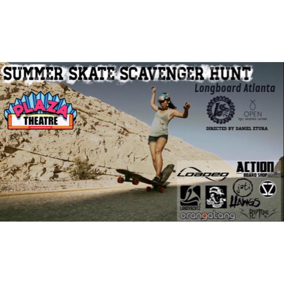 LGC USA ambassador @possala has put together a rad event this Sunday August 2nd in Georgia that includes an OPEN screening and a skate scavenger hunt!  Go to longboardgirlscrew.com for more info!  #longboardgirlscrew #womensupportingwomen #lgcopen...