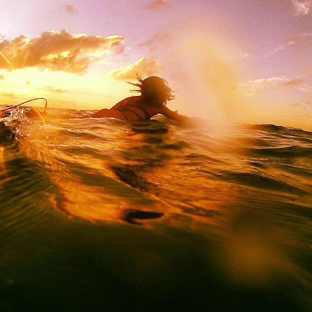 #miolamazing is golden hour on the sea