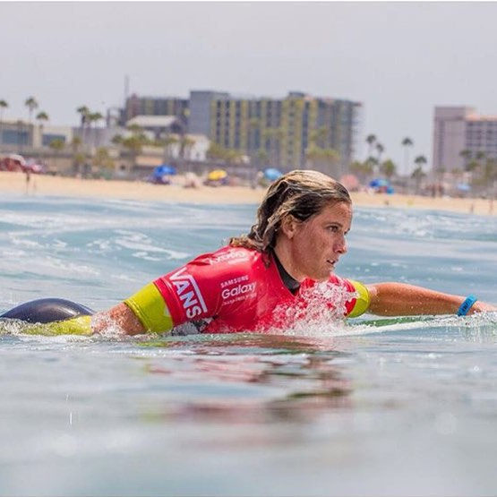 #TeamB4BC rider @courtneyconlogue, currently ranked #1 on the Women's World Tour (!), has her game face on paddling into the semifinals tomorrow morning! Tune in to cheer her on, and come stop by the B4BC traveling education booth on-site at the...