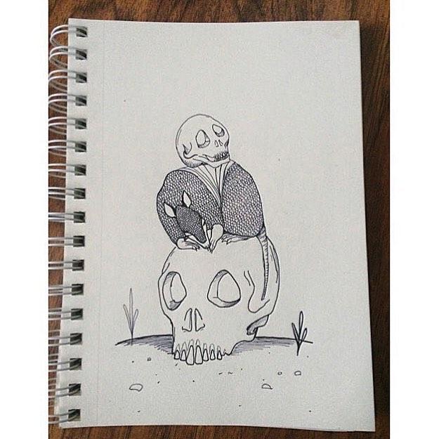 @ratxqueen • • #ATX #austintx #texas #tx #spratx #sketch #art