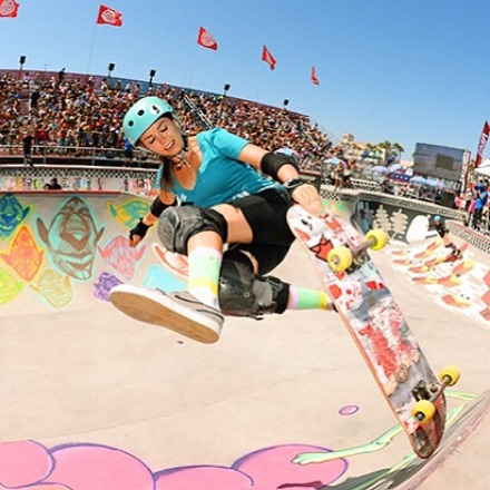 All the girls ripped at the Van Doren Invitational! Check out thrashermagazine.com for highlights and photos. Congrats to @allyshabergado 1st, @julzlovespoolz 2nd and @lizziearmanto 3rd.