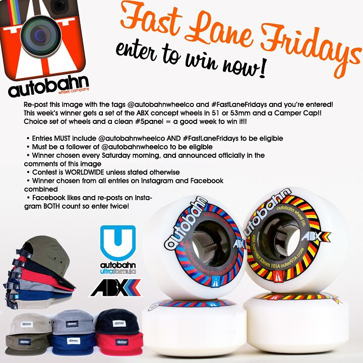 Re-post this image with the tags @autobahnwheelco and #FastLaneFridays and you're entered! This week's winner gets a set of any of the ABX concept wheels. We have a lot of styles on this platform. See them all at autobahnwheelshop.com Winner also...