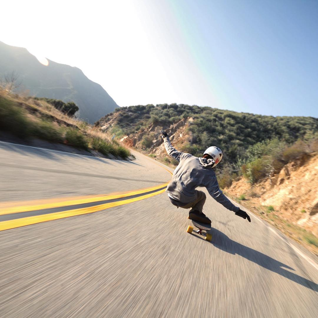 """We all live amid surfaces, and the true art is to skate well on them."" #Emerson #skatewell #RalphWaldoEmerson #longboarding #daily #encouragement #longboard #fast #board #skateboarding #sports #outdoors #desert #carving #carves #fun #wanttogohere..."