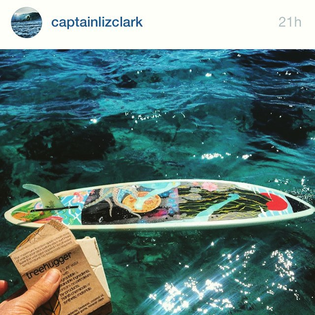 One of our favorite salty dogs @captainlizclark got her latest #ECOBOARD from the sea dogs over at @aquaticoddities , who made this souped up #Spacecake for her wave sliding pursuits around the world aboard her boat the #Swell, as Liz Clark travels the...