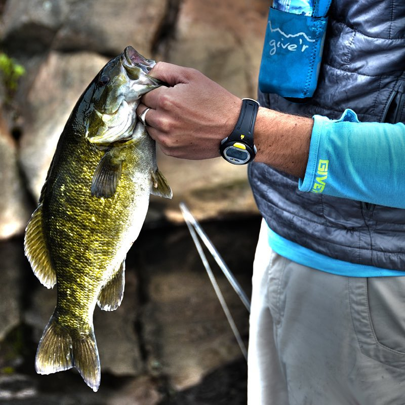 The weekend is upon us...and we've got feeshin on our minds!  #handsfree #riverrunner #smallmouth