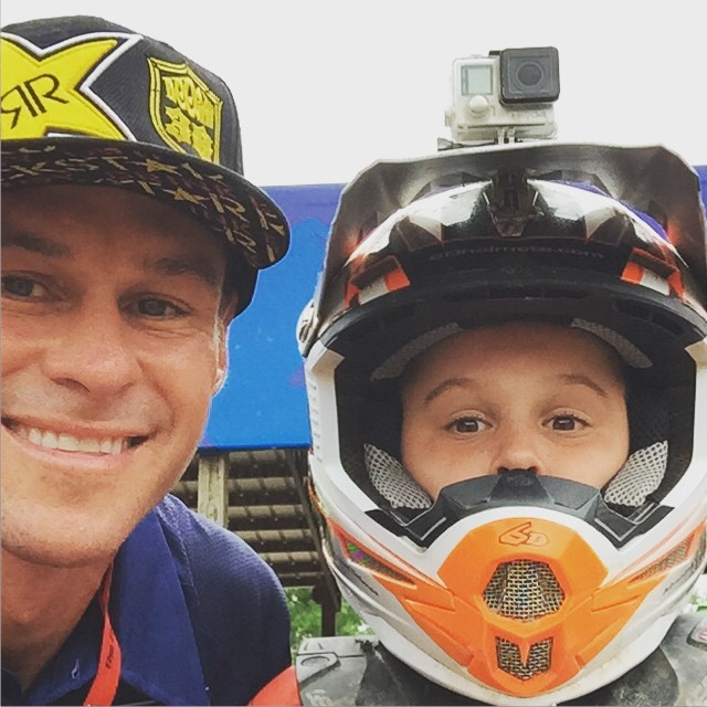 Got to spend the week with my son at #lorettalynnsmx @lorettalynnmx was great #family memories like the times I had with my family there when I raced there. Very proud of how he races so hard and all the training for the event he did. This #kid always...