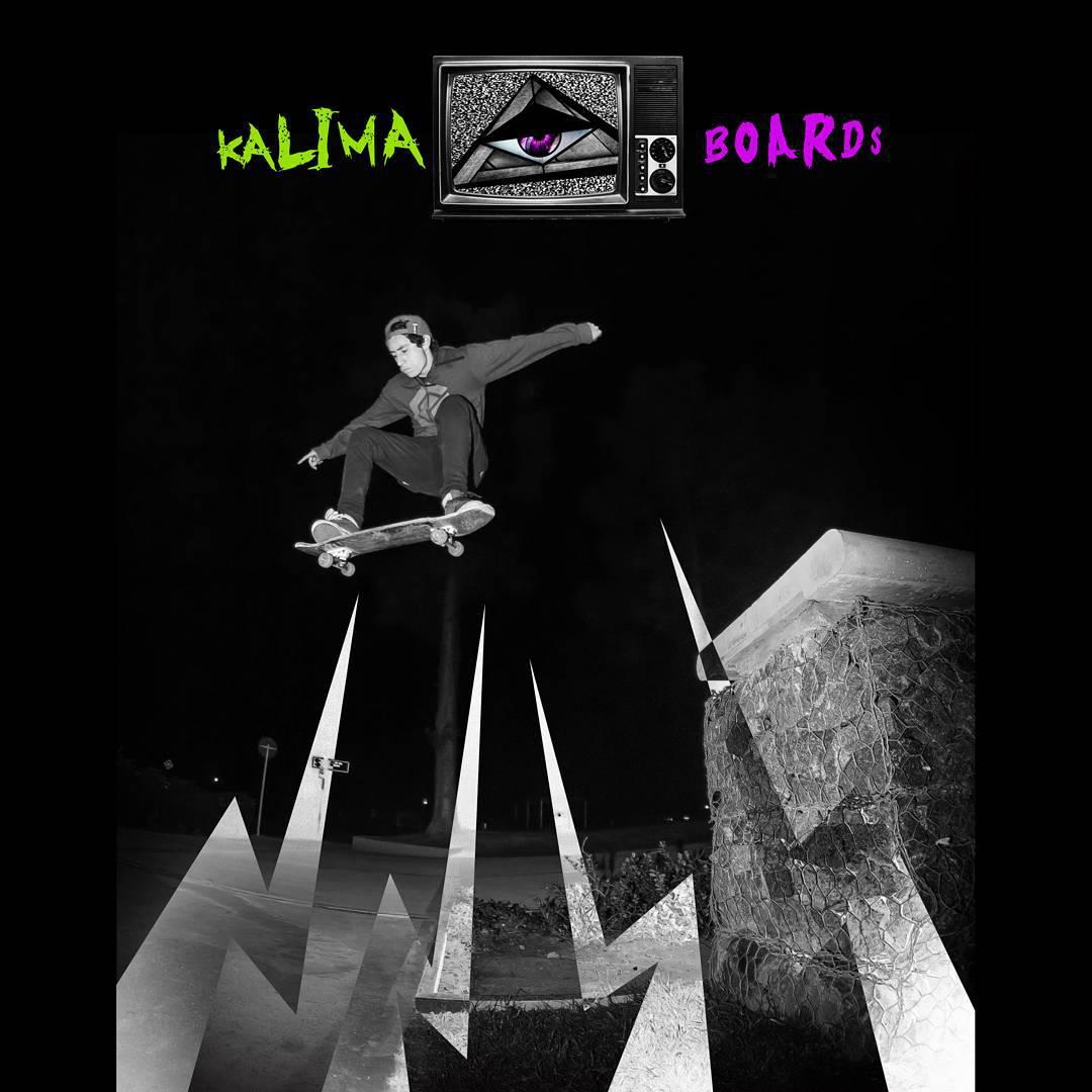 Kalima Street  Rider: Fer Fonseca...Colombia #skatelife #kalimaskate #skateboards