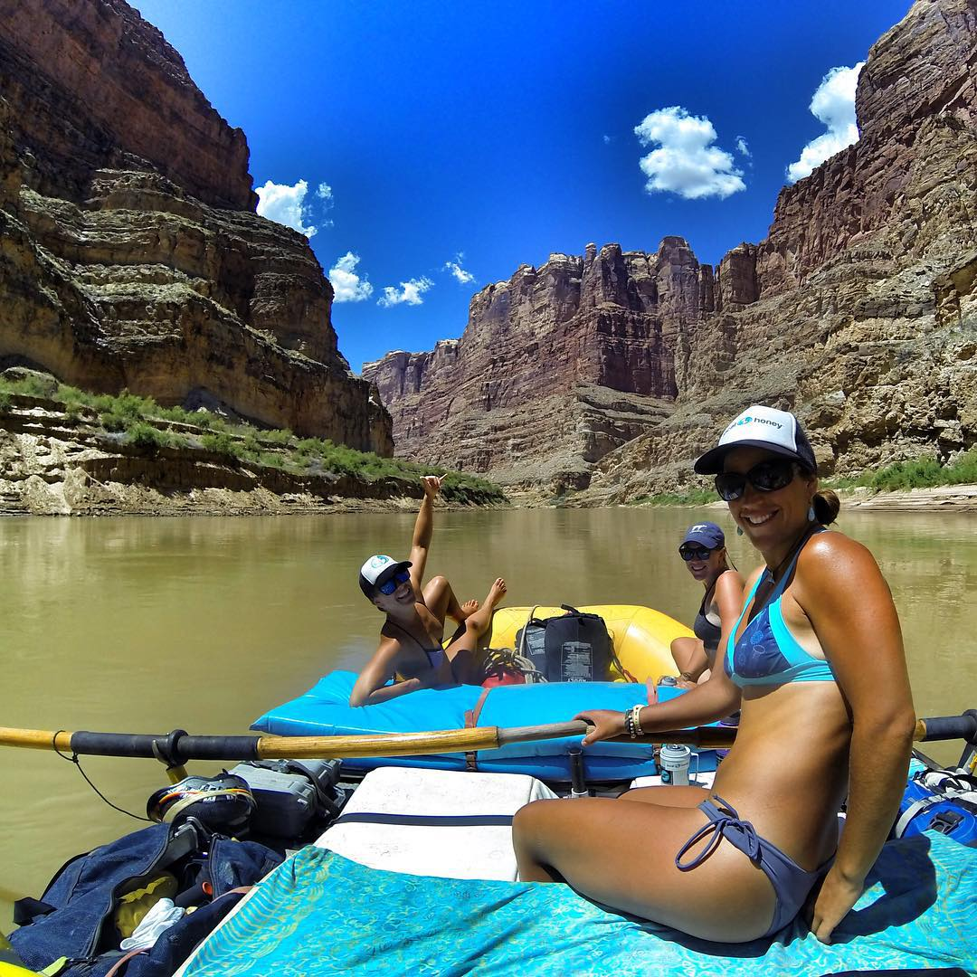 Another successful trip through the mighty Cataract Canyon! #gopro @localhoneydesigns #solarpowered