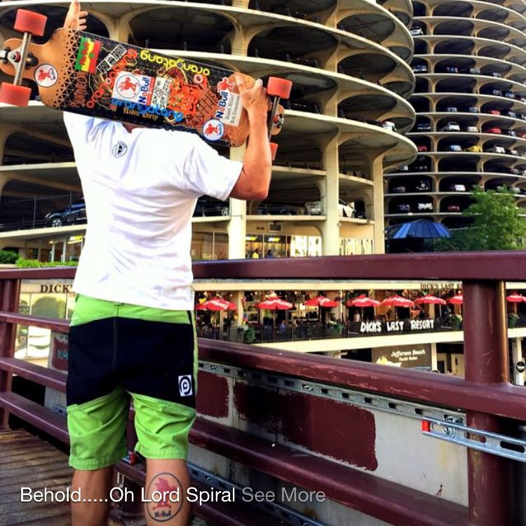 Epic repost @nobull_longboarder #pushcultureapparel #crashpants #pantheonlongboards THAT GARAGE!