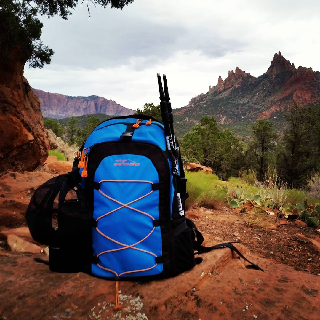 Looking forward to an awesome day in Zion.  Narrows, Angels Landing, Observation Point, and Emerald Pools. #hiking #getoutdoors #takeittothetrail #nationalparks #utah #graniterocx