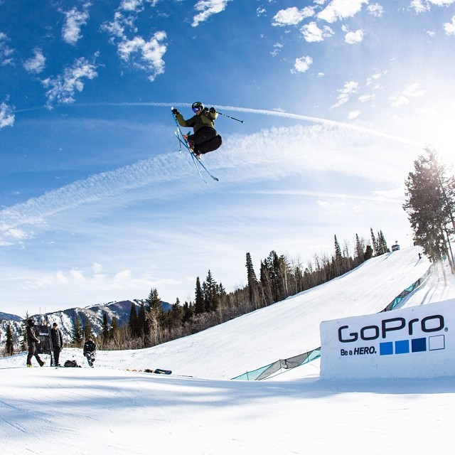 Send it into the weekend! #xgames  Photo @petermorning