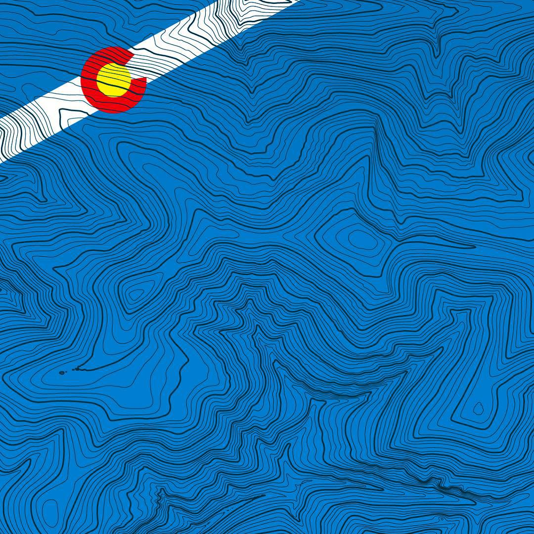 Happy Colorado Day!  139 years old and going strong.  Here's a sneak peek of a line of topographic winter base layers we are working on with all the CO ski areas.  Can you tell which ski area this is?  What ski areas should we make next? #colorado...