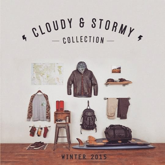 ⚡ CLOUDY & STORMY COLLECTION ⚡ Colección de invierno 2015 - Te estamos esperando en nuestros #ReefStores #Unicenter #ReefMDP #Marpla #AbastoShopping #AltoAvellaneda #PlazaOeste #JustPassingThrough #LifeIsShortGoSurfing