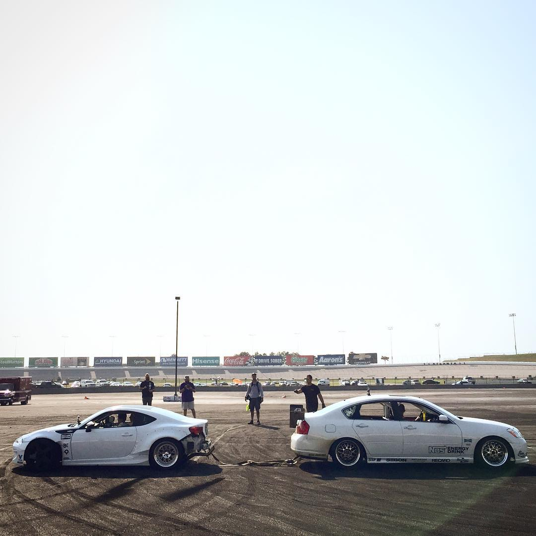 Double-tap if you want to see @ryantuerck and @chrisforsberg64 play tug-o-war!
