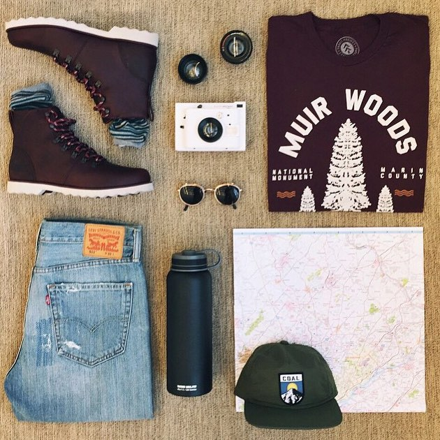 @urbanoutfittersmens suggests this rad look for your weekend adventures. Get after it! #radparks