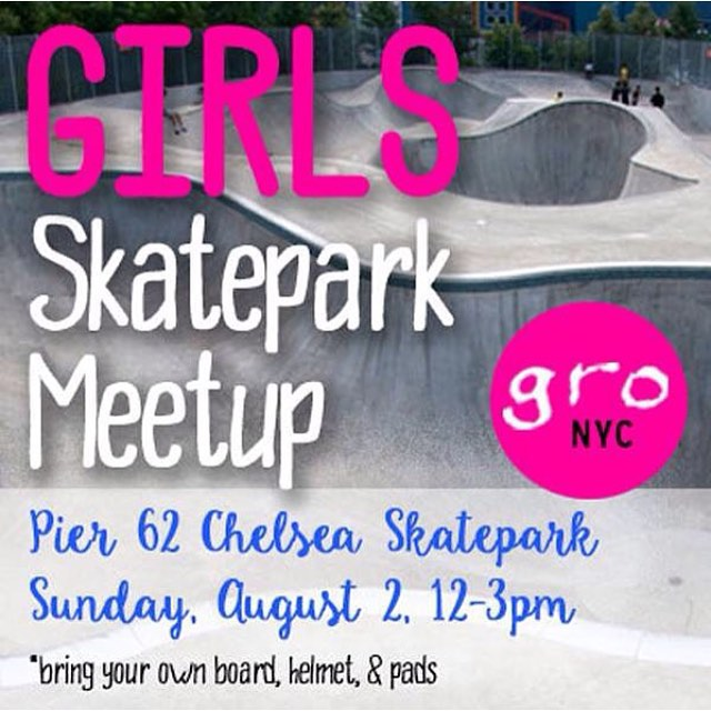 See you there #ridetrue #ladiesofshred #nyskateboarding