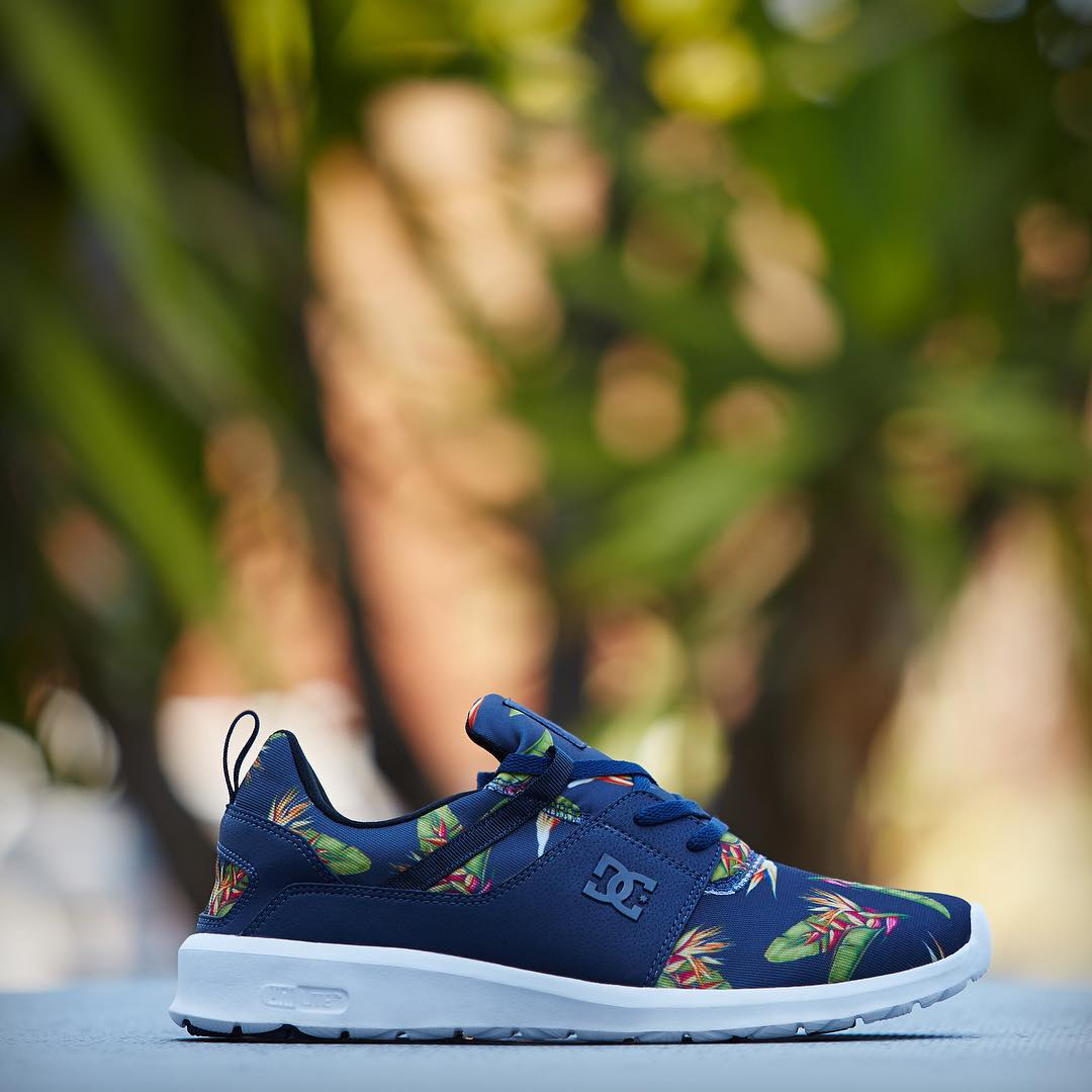 Stand out this summer in the Heathrow in the our Birds of Paradise print. dcshoes.com/Heathrow #DCShoes #DCHeathrow