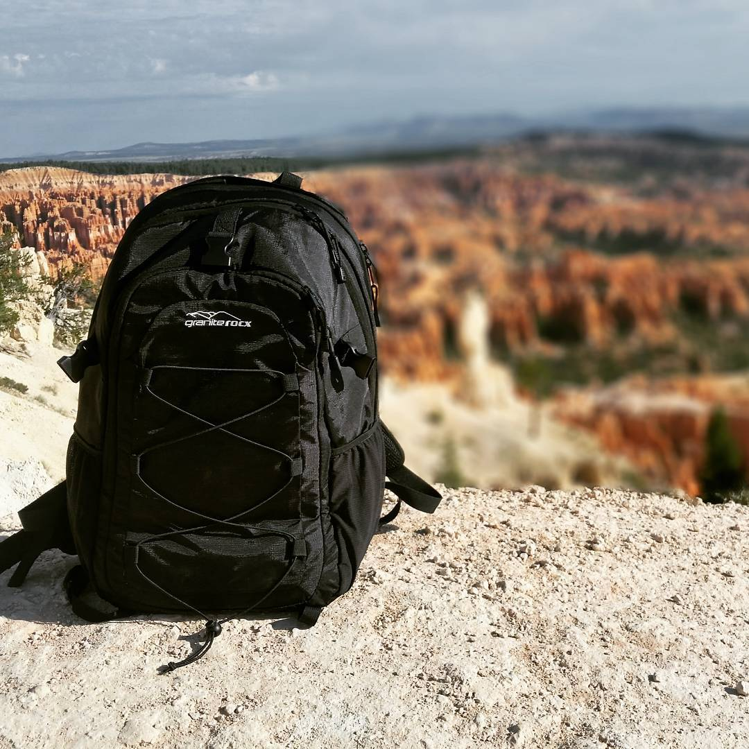 Fun hikes around Bryce Canyon with the Tahoe backpack.  #hike #getoutdoors #adventure #graniterocx