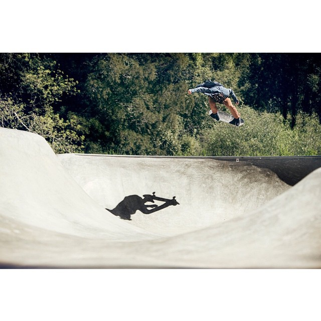 @ethanloy boosts one at a rad park amongst the trees >>> Photo by #ElementAdvocate #BrianGaberman