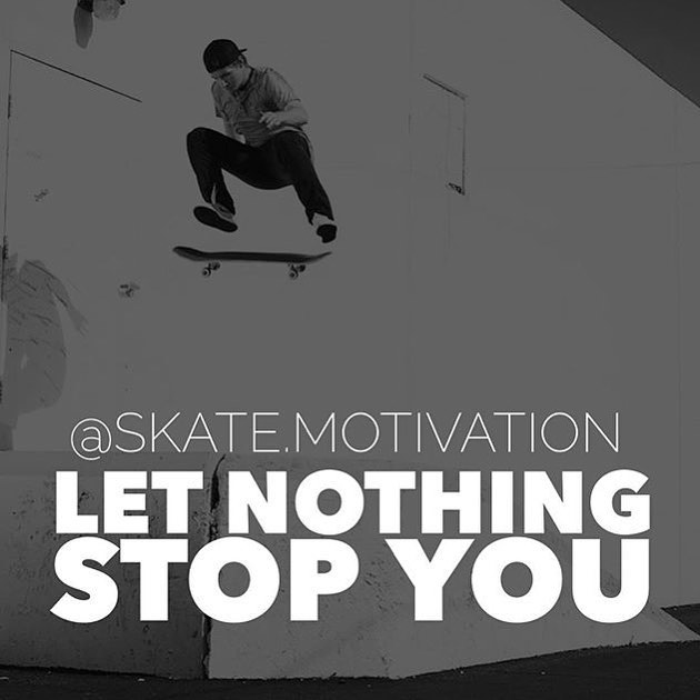 Have you checked out our @skate.motivation account yet? Follow it for you daily inspiration to get out there, ride, and just be you. #skate #skater #beyourself #sk8 #skateboard #skateboarding #shred #skatelife #streetskate #youth #community #fun...