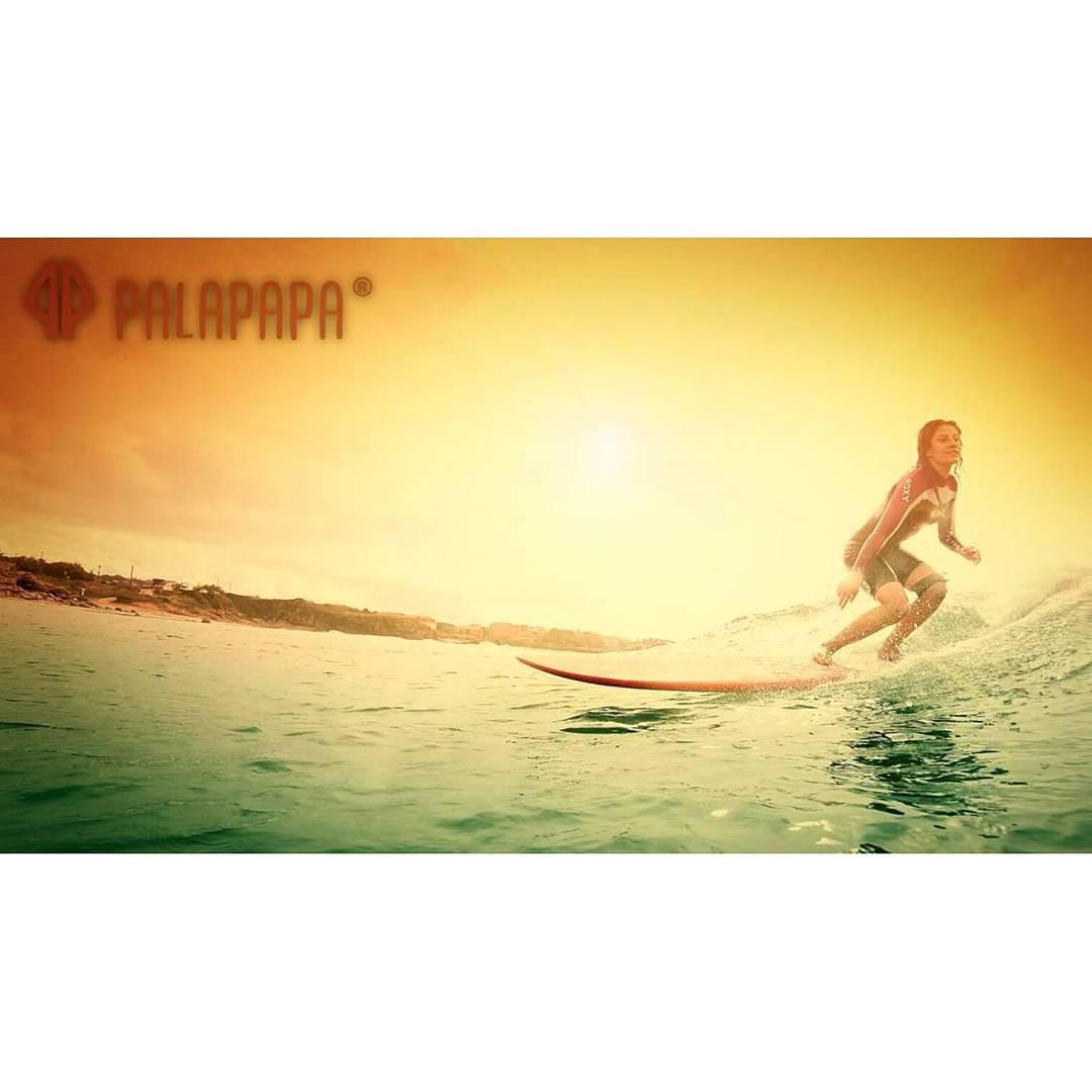SUNSET #palapapa #sunset #surf #ride #beach #color #longboard #girl #style #sports #wear #clothing #ocean #life #like4like #followme #crew #weekend #enjoy #bodyboard #kitesurf #wakeboard #sup